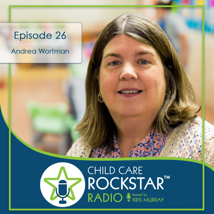 A Non-Traditional (and fun) Approach to Child Care — Andrea Wortman