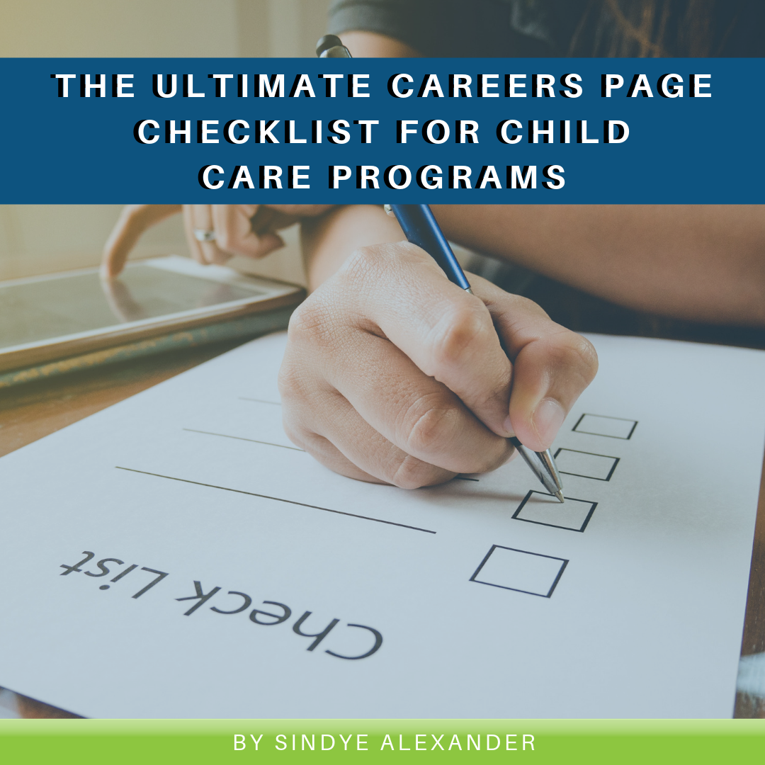 Read more about the article The Ultimate Careers Page Checklist for Child Care Programs