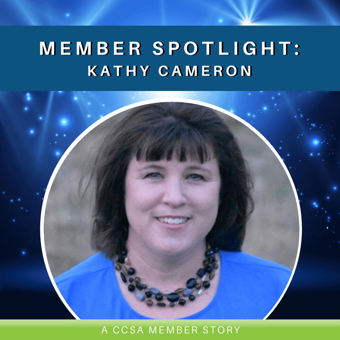 Member Spotlight: Kathy Cameron