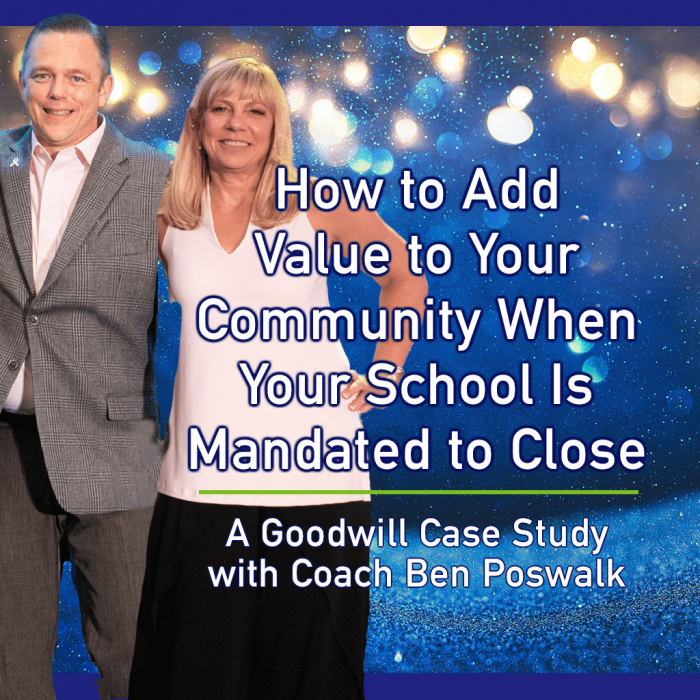 How to Add Value to Your Community When Your School Is Mandated to Close Pt. 1