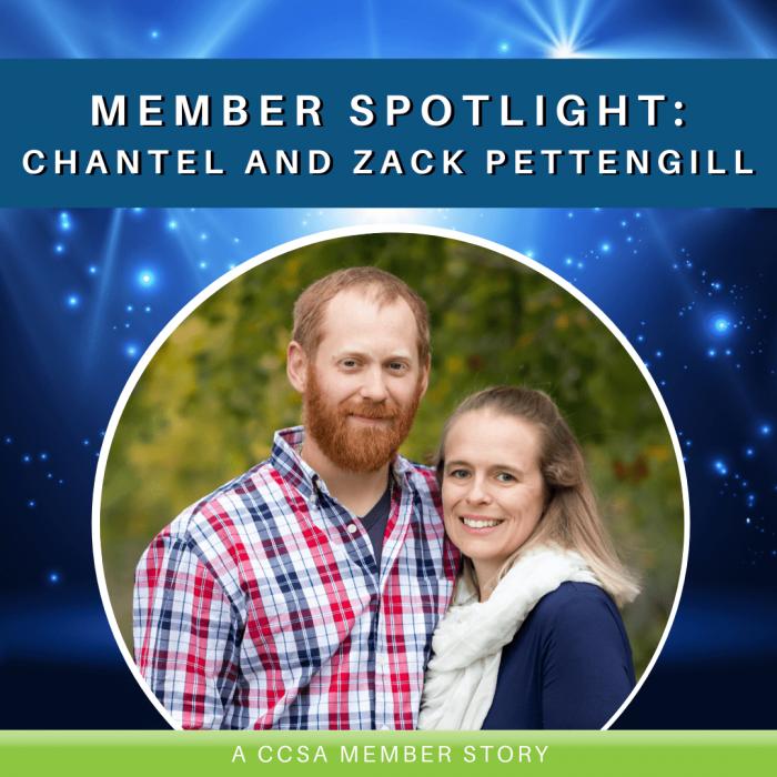 Member Spotlight: Chantel and Zack Pettengill