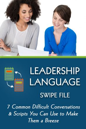 Leadership Language Swipe File
